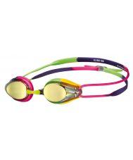 очки для плавания TRACKS JR MIRROR violet-fuchsia-green