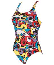 CORES NEW V BACK ONE PIECE