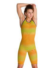 костюм для плавания ж CARBON AIR 2 FBSLOB psyco lime-orange