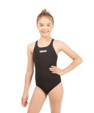 купальник спортивный ж SOLID SWIM PRO JR black-white