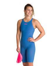 костюм для плавания ж PWSKIN R-EVO ONE FBSLOB blue-powder pink