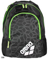 Рюкзак SPIKY 2 BACKPACK black x-pivot/fluo green